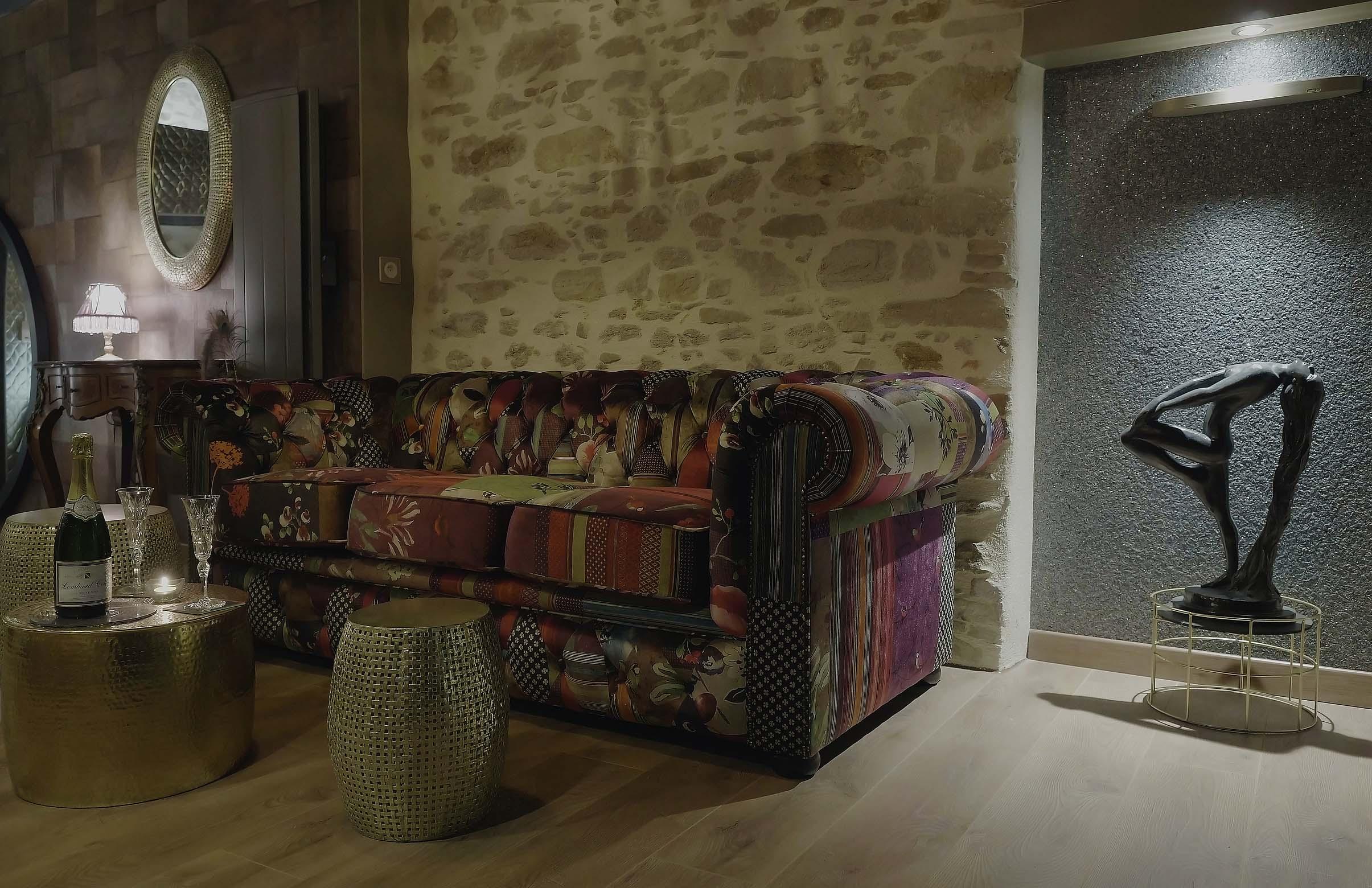 Weekend en amoureux en Vendée Chambre L'absolu spa privatif